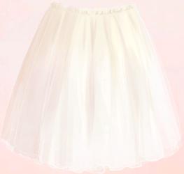 Chiffon Miniskirt