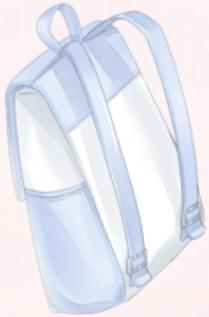 Blue Double Strap