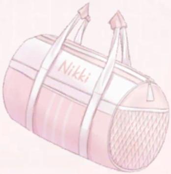 Barrel Sports Bag-Pink