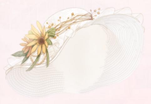Floral Lady Hat