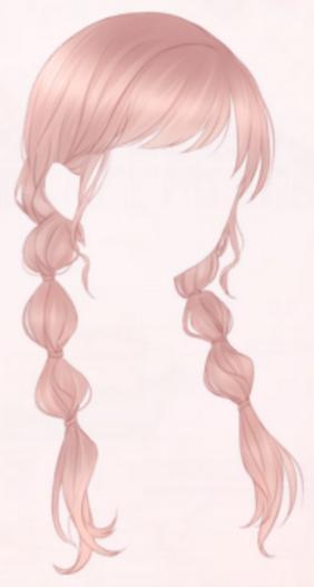 Braids Girl-Pink