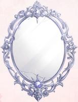 Rose Night Mirror