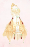 Osmanthus and Moon (Dress)