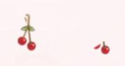 Cherry Earrings-Long