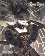Dark Raven Closeup