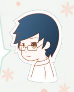Blue-haired boy in Nikki1 2