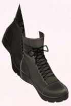 Nipped Boots-Black