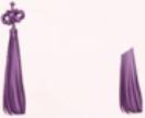 Cloud Knot-Purple