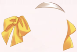 Bowknot Hairpin-Yellow