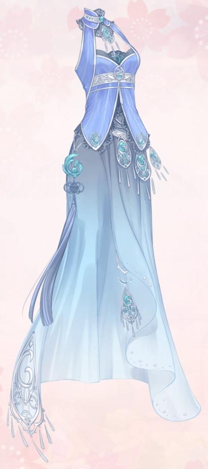 Flying Peafowl (Dress)