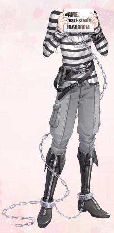Midnight Prisoner (Dress)