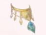 Blue Feather Golden Bell