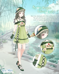 Spring Breeze Green Leaf