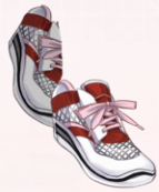 Running Shoes-Red