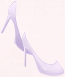 Leather High Heels-Purple
