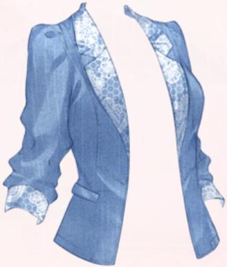 Blue-dyed Jacket