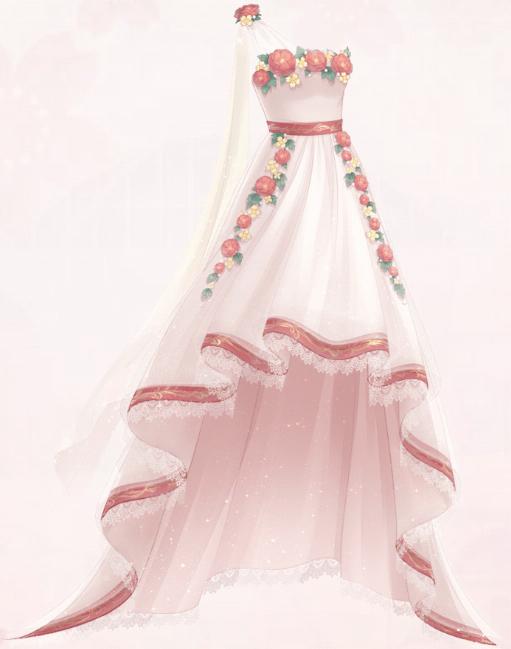Flower's Whisper (Dress)