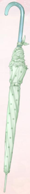 Green Tea Parasol