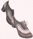 British Shoes-Gray