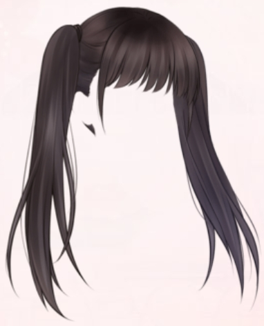 Double-Ponytail Girl