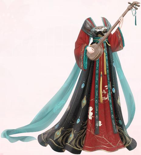 Crane and Flower (Dress)
