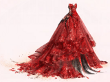 Billow Rose Sheer