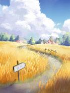 Wheat Field Sketch
