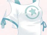 Strapless T-shirt