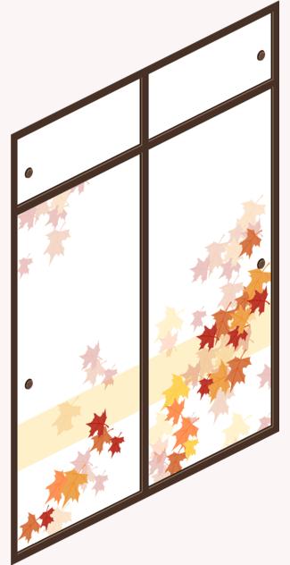 Autumn Woods Shoji