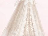 Leaf Pattern Gauze Dress