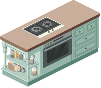 Natural Cabinet Combination