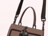 Tassel Handbag-Brown