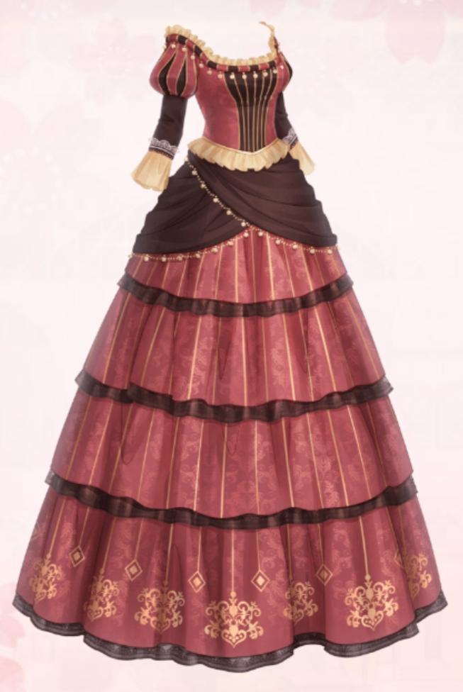 Classic Long Dress