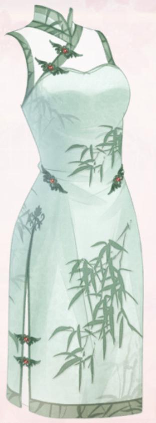 Green Spotted Cornel (Dress)