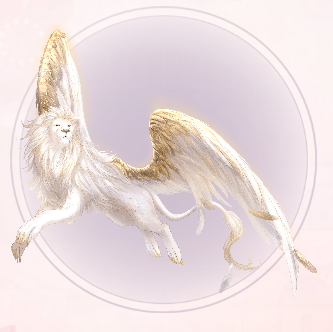 Holy Lion with Wings