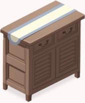 Classic Oak Cabinet