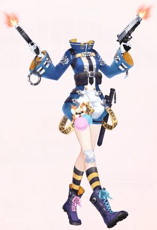 Crime Buster (Dress)