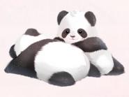 Sunbath Panda
