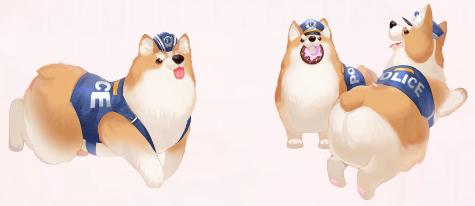 Police Dog Assistant