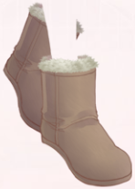 Short Snow Boots-Brown