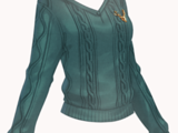 Knitted Sweater-Green