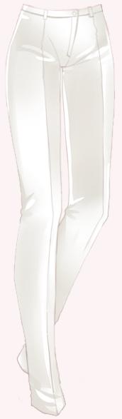 Polite Waiter-Trousers