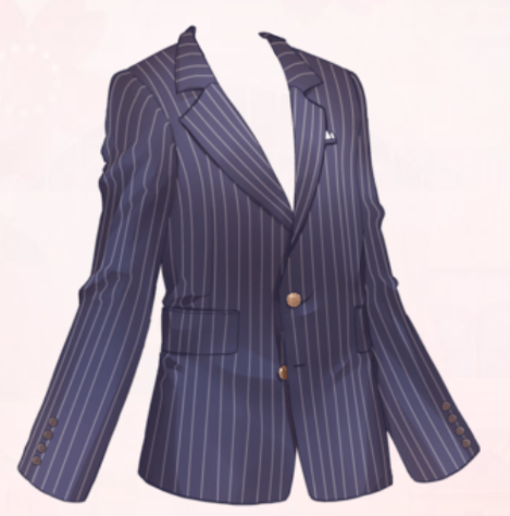 Stripe Gentleman-Jacket