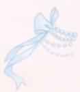 Bow Ribbon-Blue