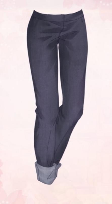 Purple Trousers