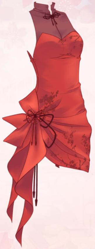 Cinnabar Cloud (Dress)