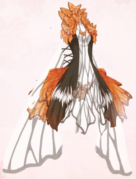 Madam Butterfly (Dress)
