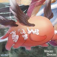 Winged Dancer close up 2