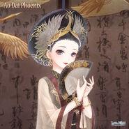 Ao Dai Phoenix 1