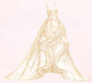 Flower Tale (Dress)